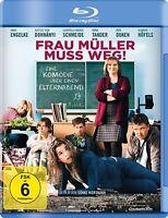 FRAU MÜLLER MUSS WEG  BLU-RAY (Gabriela Maria Schmeide, Anke Engelke) NEU
