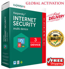 KASPERSKY INTERNET Security 2019 / 3 Devices / 1 Year / GLOBAL ACTIVITY / 13.35$
