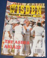 WISDEN CRICKET MONTHLY JULY 1993 - THE ASHES ABLAZE