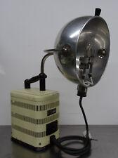 Antike Art Deco Bauhaus Quarz Lampe grosse Deko Höhensonne - Original Hanau 300