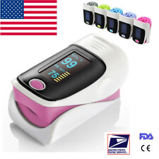 OLED Blood Oxygen Finger Tip Pulse Oximeter Oxymeter SPO2 PR Tester 5 Color USA