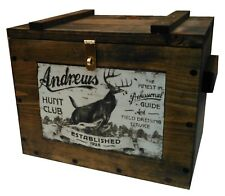 Wooden Vintage Hunting Ammo Boxes For Sale Ebay