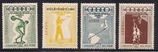 Peru  1948  Sc # C78-81   Perf.:13   Olympic  MNH  (2-8319-5)