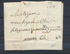1793 lettre Marque 12 APT rare et frappe Superbe BOUCHES DU RHONE (12) P4245