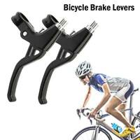 2Pcs Aluminium Alloy Mountain Bicycle Bike Handle Brake Lever Right & Left Kit