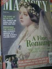 Majesty Magazine V21 #2 Andrew At 40 Sarah, Royals In France, Royal Love Stories