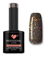 3D-015 VB™ Line Multicolour in Dark Glitter - UV/LED soak off gel nail polish