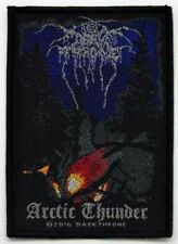 Darkthrone Dark Throne - Arctic Thunder Patch Aufnäher Black Metal Heavy NEU