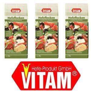 Hefeflocken salzfrei 3x200g Packung - VITAM (22,50 EUR/kg)