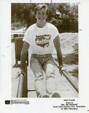 ROB STONE SMILING PORTRAIT PARALLEL BARS MR BELVEDERE ORIGINAL 1988 ABC TV PHOTO