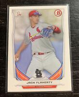 Jack Flaherty 2014 1st Bowman DP30 St. Louis Cardinals