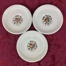 Wedgwood Edme Conway THREE (3) Orphan Cream Soup Saucers Liners