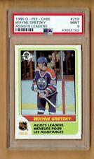 1986-87  O-PEE-CHEE   Wayne Gretzky  #259   PSA 9
