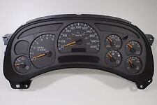 NEW FACTORY 03-05 CANADIAN METRIC KILOMETER GAUGE HD SILVERADO TRUCK GAS CLUSTER
