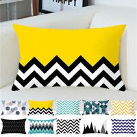 30x50cm Geometric Pillow Case Throw Cushion Cover Sofa Pillow Cover Home Decor