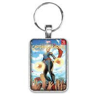 The Mighty Captain Marvel #1 Cover Key Ring or Necklace Carol Danvers Comic Book