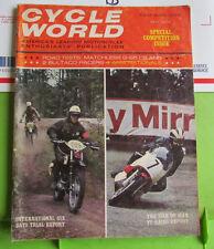 Cycle World Magazine November 1966 Matchless G-85-Cs Bultaco # 9B
