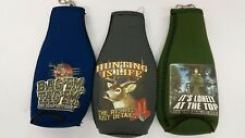 Hunting & Fishing Assorted Bottle Cooler, Coozie, Koozie, Coolie (Lot of 3)