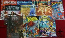 Lot of 193+: Assorted Comics: DC, Marvel, Image, X-Men, Superman, Dark Knight