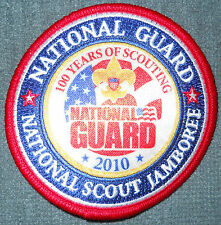 2010 National Boy Scout Jamboree National Guard Patch MINT! Jambo Jam NJ