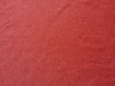 Heather Red Cotton Fabric Jersey Knit  by the Yard