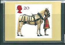 wbc. - GB - PHQ CARDS - 1997 - 50yrs. BRITISH HORSE SOCIETY  - COMP. SET  MINT