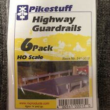 Pikestuff 13 Highway Guardrails kit 6 pack HO Scale RIX MODELRRSUPPLY  $5 Coupon
