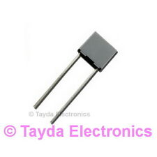 5 x 47nF 0.047uF 100V 5% Polyester Film Box Type Capacitor - FREE SHIPPING