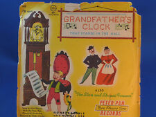 PETER PAN - Grandfather's Clock / Stars & Stripes Forever - with PICTURE SLEEVE