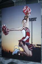 DIANNA AGRON Signed 11x14 inch photo DC/COA GLEE