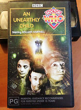 DOCTOR WHO - AN UNEARTHLY CHILD - WILLIAM HARTNELL - VHS