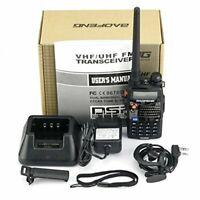 Portable Two Way Radio Scanner Ham Walkie Talkie Transceiver Police EMS UHF/VHF