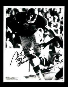 Steve Owens Hand Signed 1969 Heisman 8x10 Photo Autograph Oklahoma