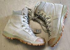 Original British Army Issue Leather Lowa Desert Combat Boots Size 11 UK #753