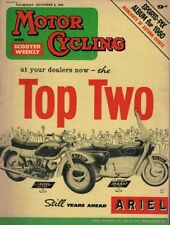 December Weekly Motor Cycling Magazines