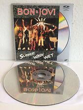 Bon Jovi - Slippery When Wet | Live | US-Laserdisc | LD