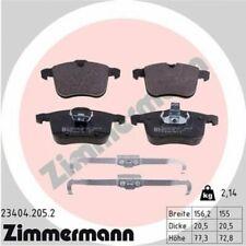 1x Bremsbelagsatz  Scheibenbremse ZIMMERMANN 23404.205.2