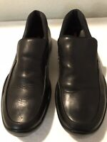 PRADA Men's Venetian Leather Loafer Black  Made In Italy Size  US 8.5