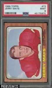 1966 Topps Football #73 Jerry Mays Kansas City Chiefs PSA 9 MINT