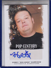 "2012 LEAF POP CENTURY COREY ""BIG HOSS"" HARRISON  ""PAWN STARS"" AUTOGRAPH AUTO"