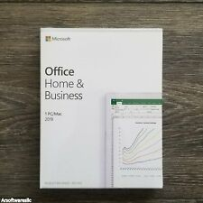 Microsoft Office Home and Business 2019 PKC 1 User Windows 10 or Mac New Sealed
