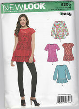 From UK Sewing  Pattern Tops  8-20 Lace US #6306