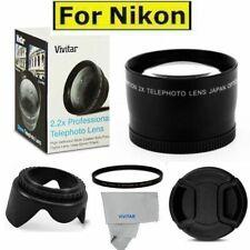 58mm 2.2X TELEPHOTO +UV FILTER+HOOD + CAP FOR AF-S NIKKOR 35mm f/1.8G ED Lens