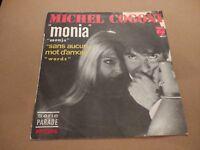 """MICHEL COGONI * MONIA * 7"""" SINGLE FRANCE 1968 PHILIPS EXCELLENT"""