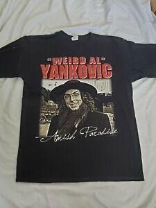 """""""Weird Al"""" Yankovic Amish Paradise Shirt Sz L 2010 Anvil"""