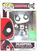 Funko Pop Deadpool White # 112 Marvel Deadpool Exclusive 2016 Brand New Figure