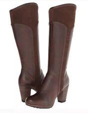TIMBERLAND Earthkeepers Knee Boots Exeter Heights Size Uk 6 Block Heel Comfort