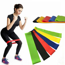 Resistance Bands Elastic Rubber Bands Fitness Loop Yoga Pilates Home GYM Fitness