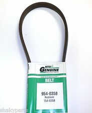 Original MTD 954-0358 Belt Compatible With 754-0358