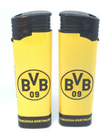 1x Feuerzeug Borussia Dortmund NEU Fussball - Elektrofeuerzeug - BVB Lighter 1